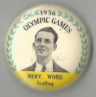 Button AUS 1956 Merv. Wood AUS M1X gold medal winner OG London 1948