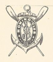 PC GER Strassburg Rowing Club founded 1879 now FRA coat of arms on reverse