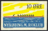 label den nykoebing m. roklub drawing of 8