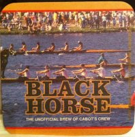 Beer mat CAN Black Horse St. Johns regatta Newfoundland
