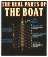 Poster unknown country The real parts of the boat image on magnet