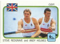 cc ita panini supersport no. 200 steve redgrave andy holmes