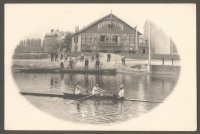 PC GER Strassburg Rowing Club founded 1879 now FRA undivided back pre 1905