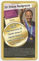 CC GBR 2012 OG TOP TRUMPS GOLD OG London Sir Steve Redgrave GBR