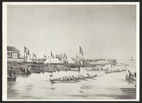 CC GER unknown album image No. 85 Hamburg 1st German regatta 1844 Sept. 22nd