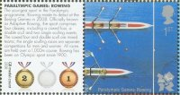 stamp gbr 2010 july 27th mi 2977 paralympic games london 2012 with text on label