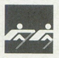 Olympic pictogram No. 4 used 1980 at OG MontreaL