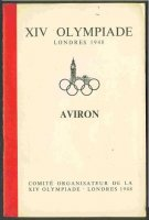 reglement gbr 1948 og london aviron with map of regatta course