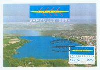 MC ESP 2004 WRC Banyoles View of lake from air