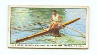 CC GBR 1949 The British Automatic Company Series SPEED No. 3 M.T. Wood Olympic Sculling Champion 1948